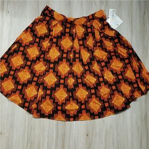 NWT Lularoe Madison Pleated Skirt with PocketsSK28